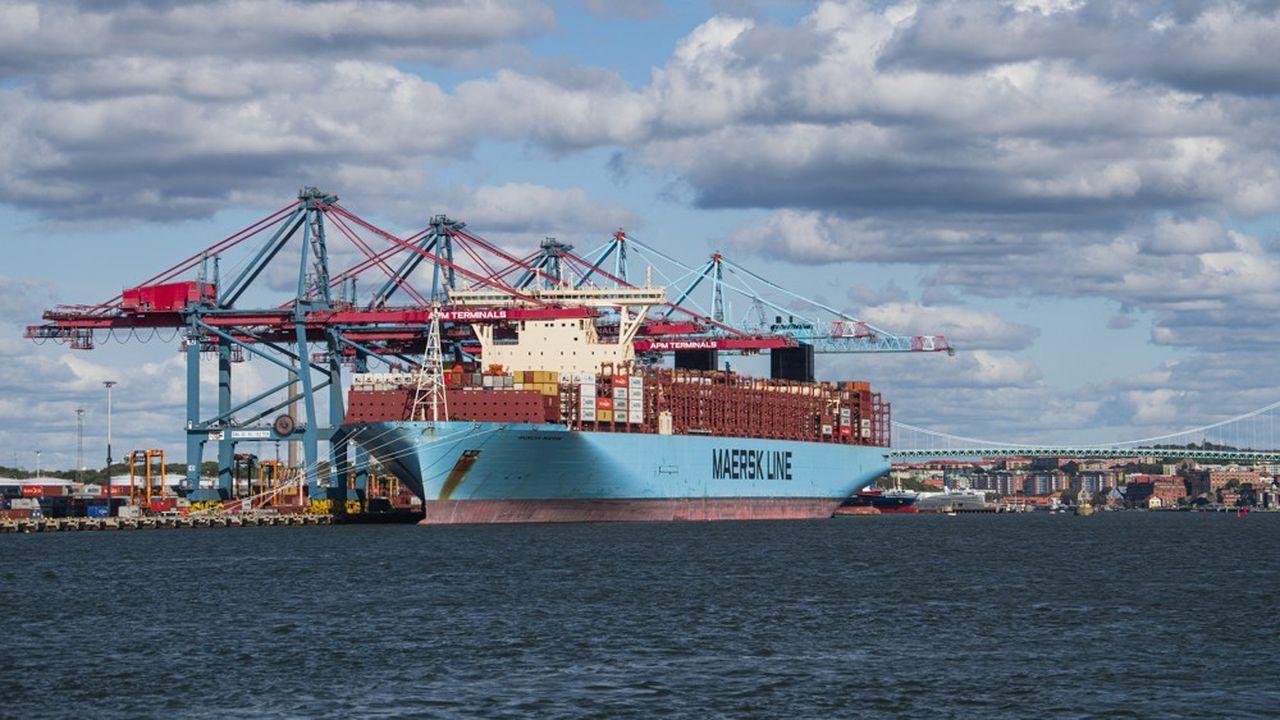 Les nouveaux navires livrables en 2024, et 2025 pour les options, remplaceront des bateaux conventionnels, soit 3% de la flotte totale de Maersk.