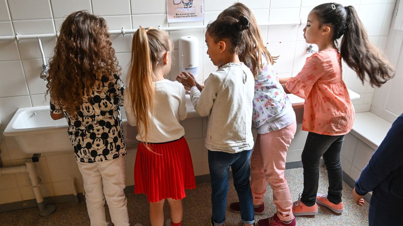 Selon l'Institut Pasteur, les enfants pourraient représenter la moitié des contaminations à l'automne.