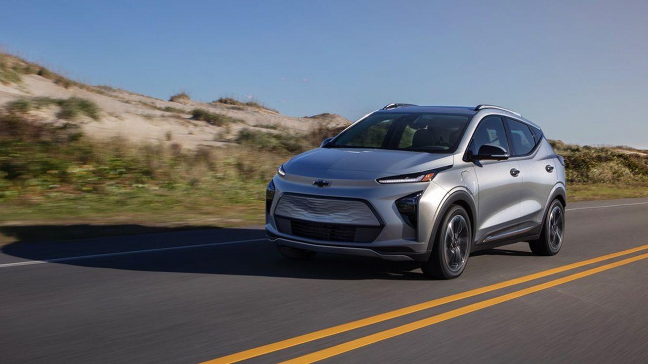 Le rappel annoncé vendredi concerne 74.000 Chevrolet Bolt, y compris les modèles les plus récents et ceux déjà passés chez le concessionnaire pour le même problème.