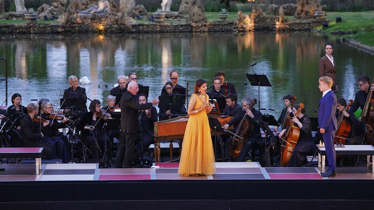 Cette 10e édition a choisi «Partenope», heureux prétexte à rassembler six jeunes chanteurs éclos dans Le Jardin des Voix.
