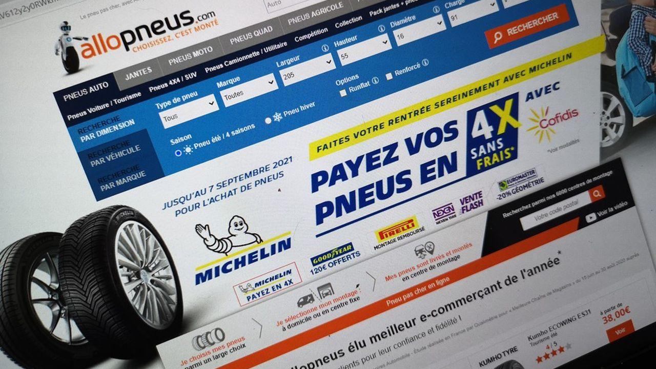 Michelin détenait 40% du capital d'Allopneus depuis 2015.