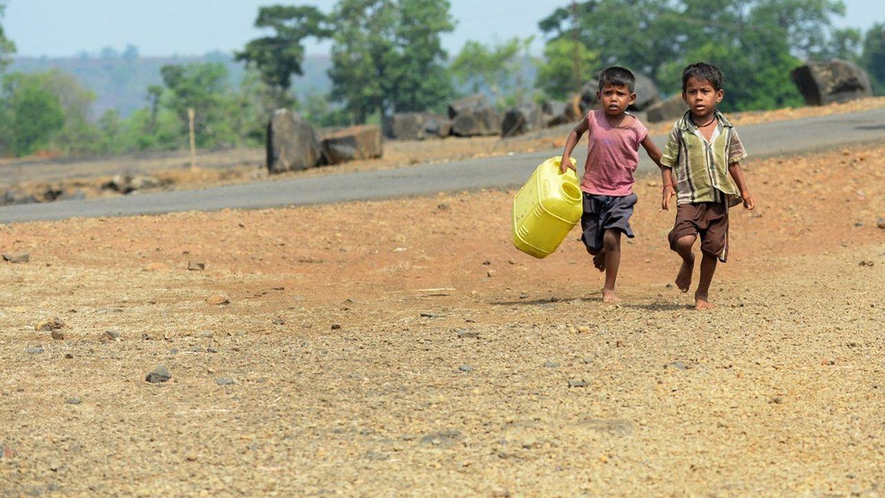 L'Inde fait partie des pays où l'exposition des enfants aux risques liés au changement climatique est «extrêmement élevée», selon l'Unicef.