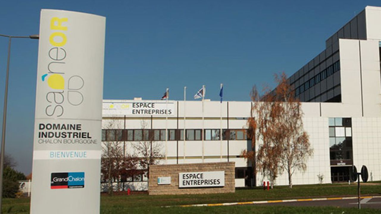 Installé à l'entrée de la zone industrielle Saôneor de Chalon-sur-Saône, le site de Nordeon occupe un espace de 6,5 hectares.