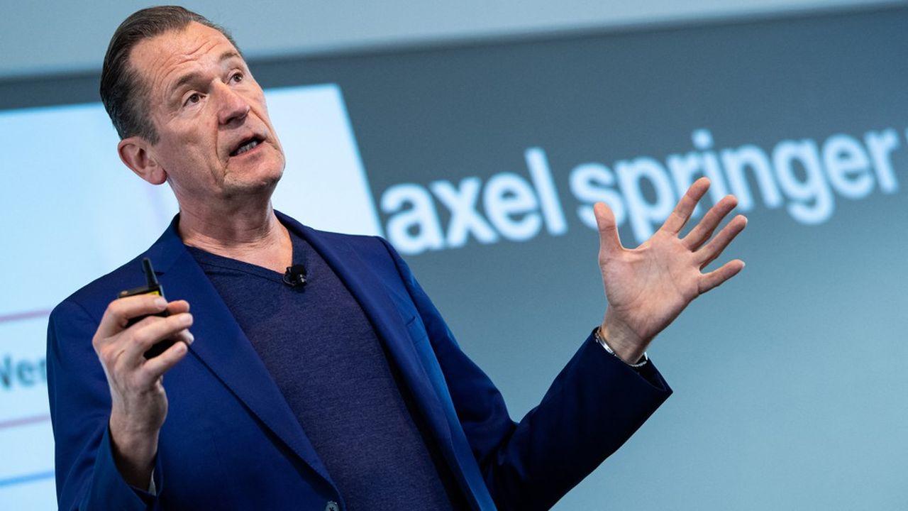 «Nous sommes convaincus d'avoir acquis Politico à un prix attractif», assure Mathias Döpfner, directeur général d'Axel Springer.