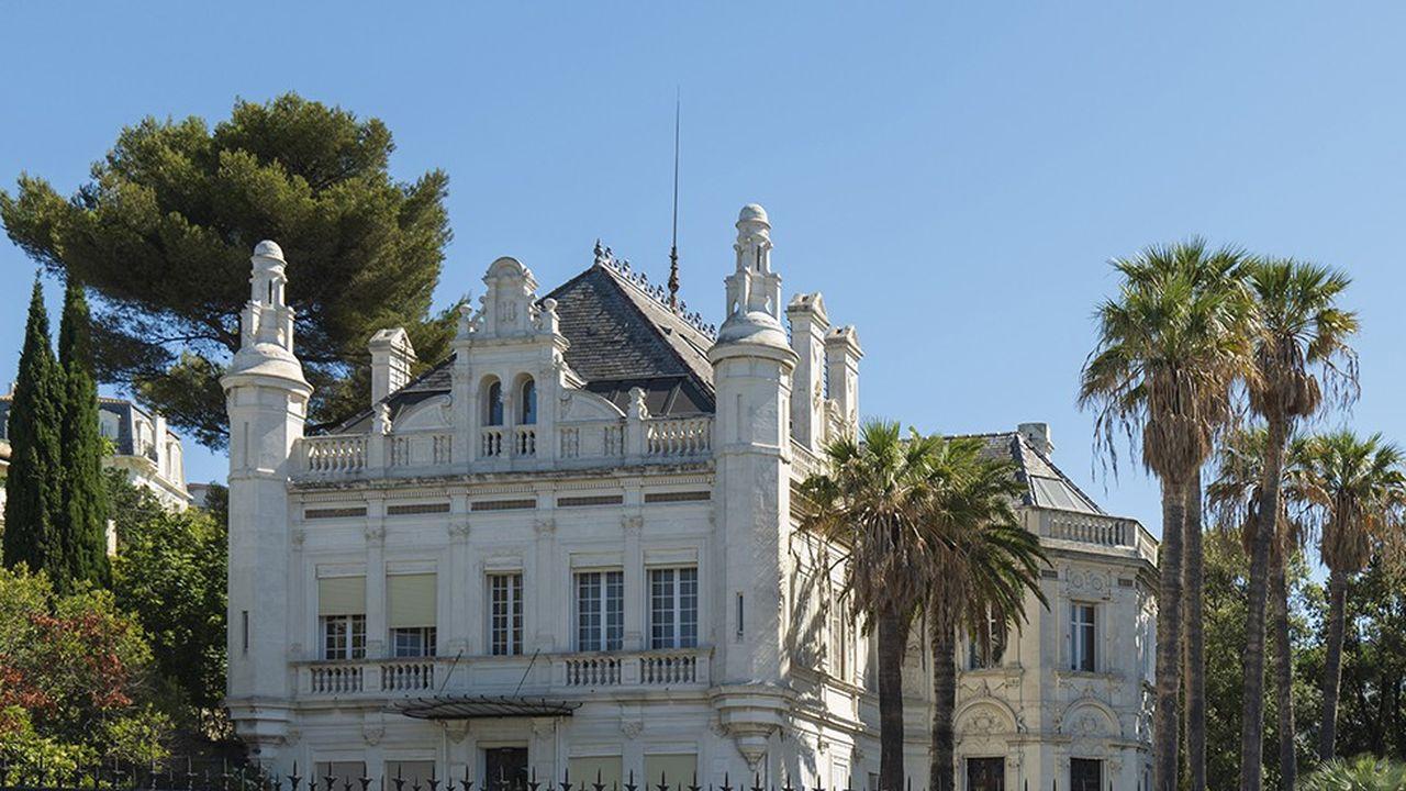Le château Berger (anciennement villa Castellamare), construit au XIXe siècle.