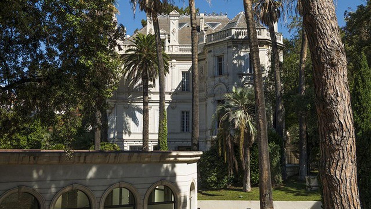Le château Berger est devenu un centre de thalasso et un spas.