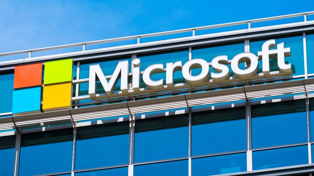 Microsoft est le deuxième groupe au monde du cloud, après Amazon.