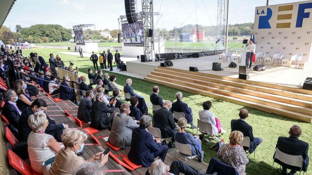 La Rencontre des entrepreneurs de France a investi l'hippodrome ParisLongchamp du 24 au 26août.