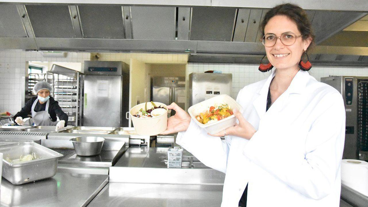 Les plateaux-repas de Baluchon sont réalisés uniquement à partir de produits frais, entièrement travaillés dans leurs cuisines.