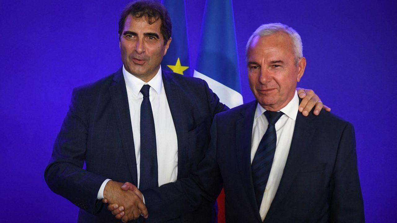 Christian Jacob et Jean Leonetti (ici en 2019).