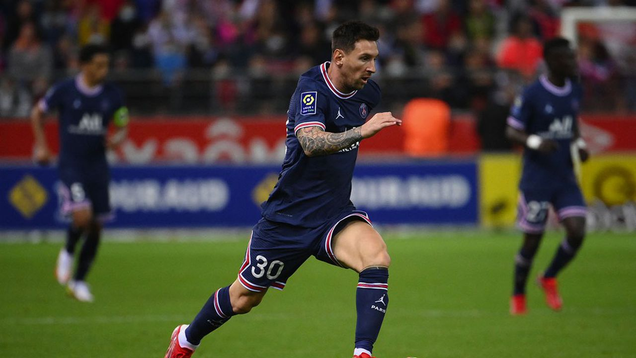 Lionel Messi s'est engagé libre au Paris Saint-Germain en août dernier.