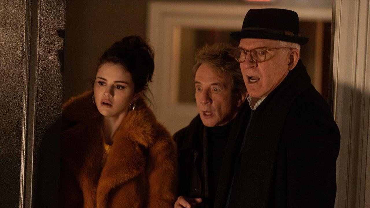 « Only Murders In The Building », Mabel (Selena Gomez), Charles (Steve Martin).