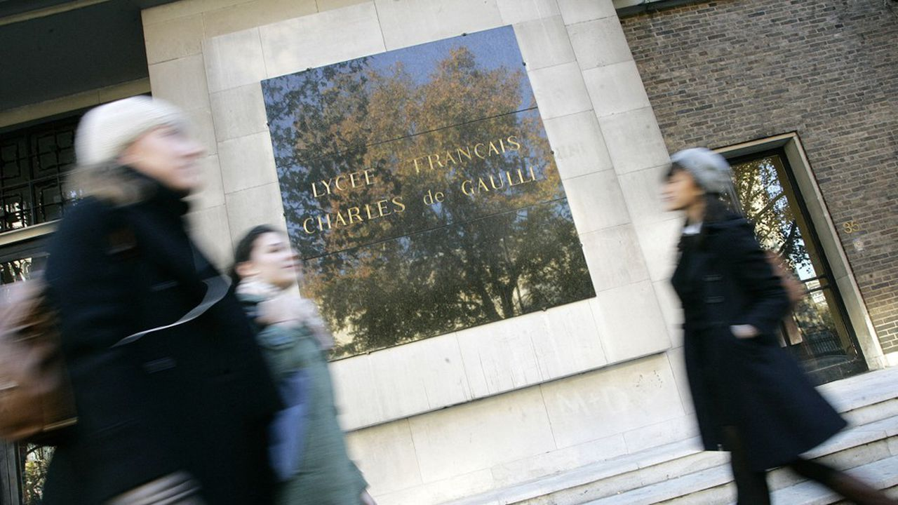 Le lycée Français Charles de Gaulle à Londres.