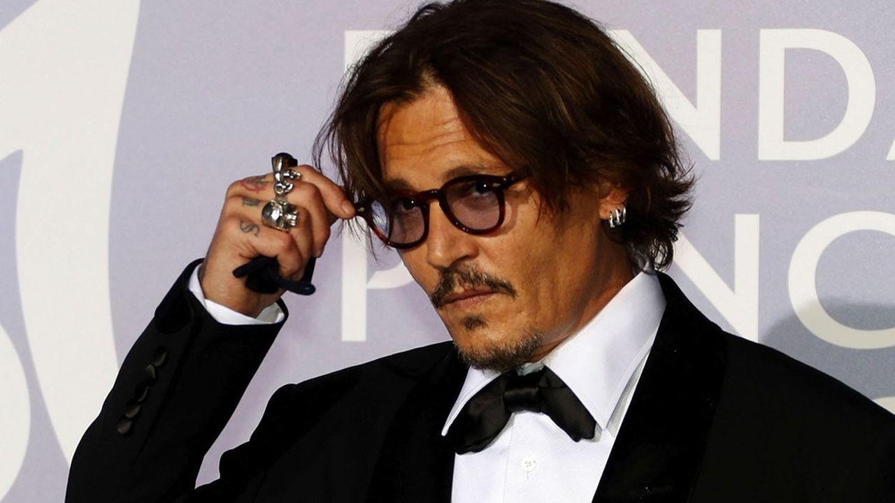 Johnny Depp, un des grands invités du 47e festival de Deauville.