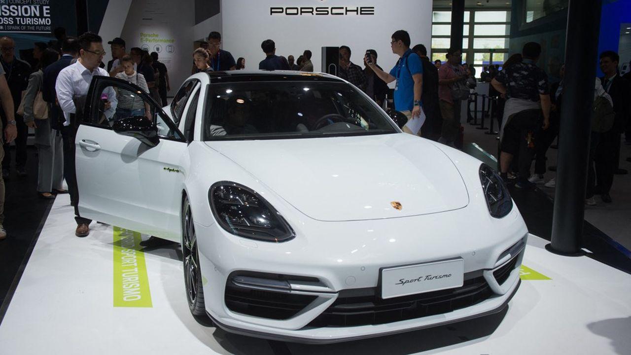 En 2020, Porsche a livré88.968 véhicules en Chine, un marché en pleine expansion