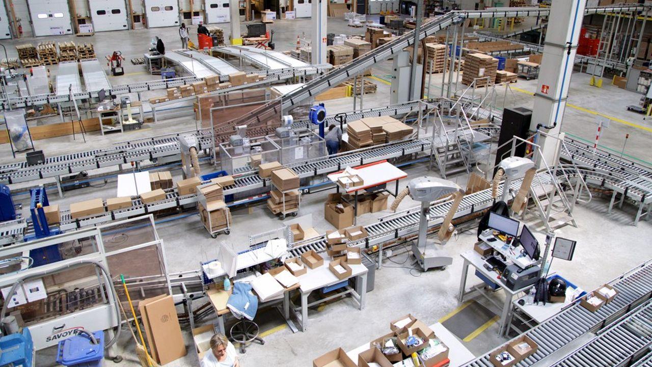 Plus de 360 tonnes de papiers, cartons, films d'emballage, bois et ferrailles ont été valorisées par Manutan en 2020.