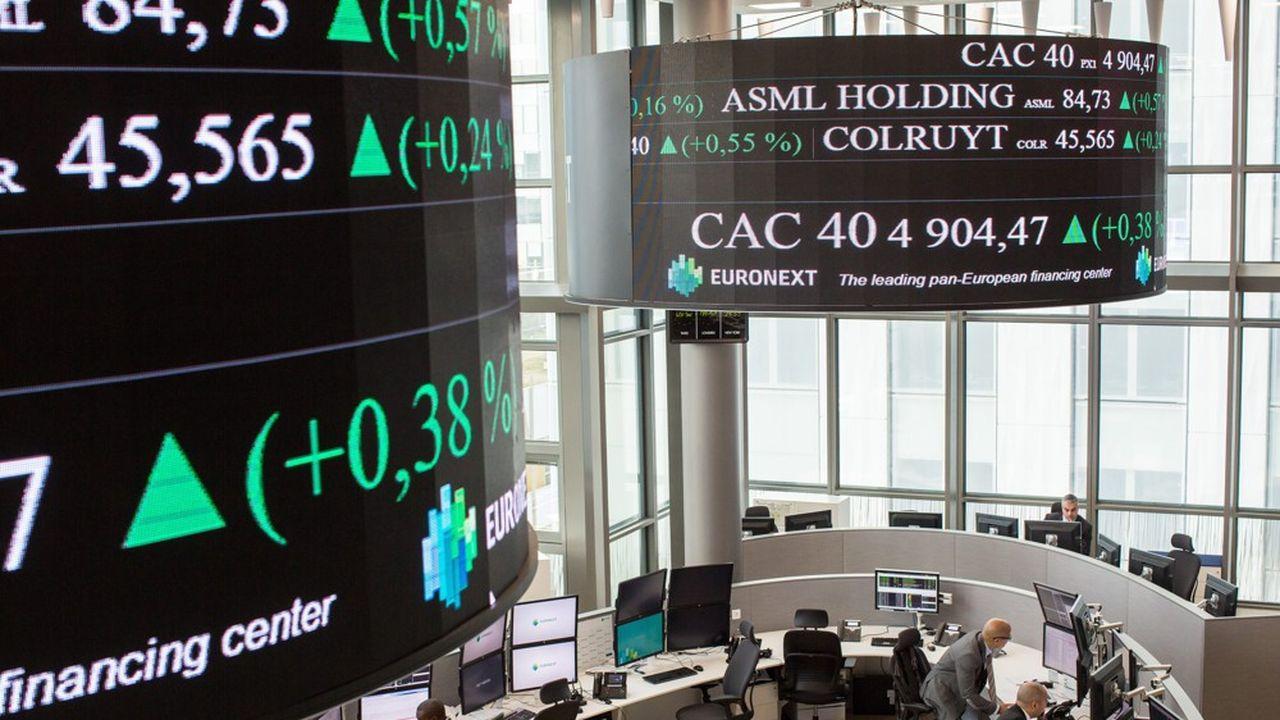L'indice parisien a grimpé de plus de 21% cette année, dépassant son pic d'avant-crise de plus de 10%.