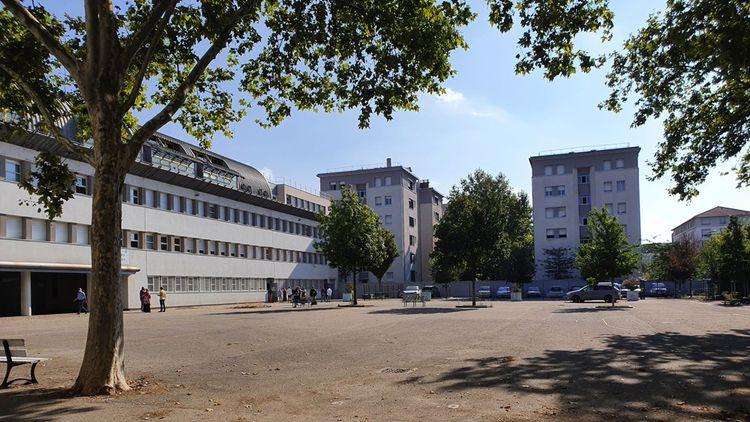Le lycée Lacassagne à Lyon.
