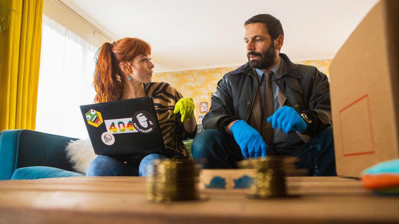 Audrey Fleurot et Mehdi Nebbou sont les deux acteurs principaux de la série française «HPI».