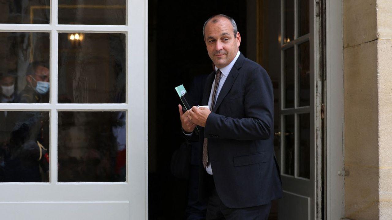 Le secrétaire général de la CFDT, Laurent Berger, a été le premier à être reçu par Jean Castex, mercredi.