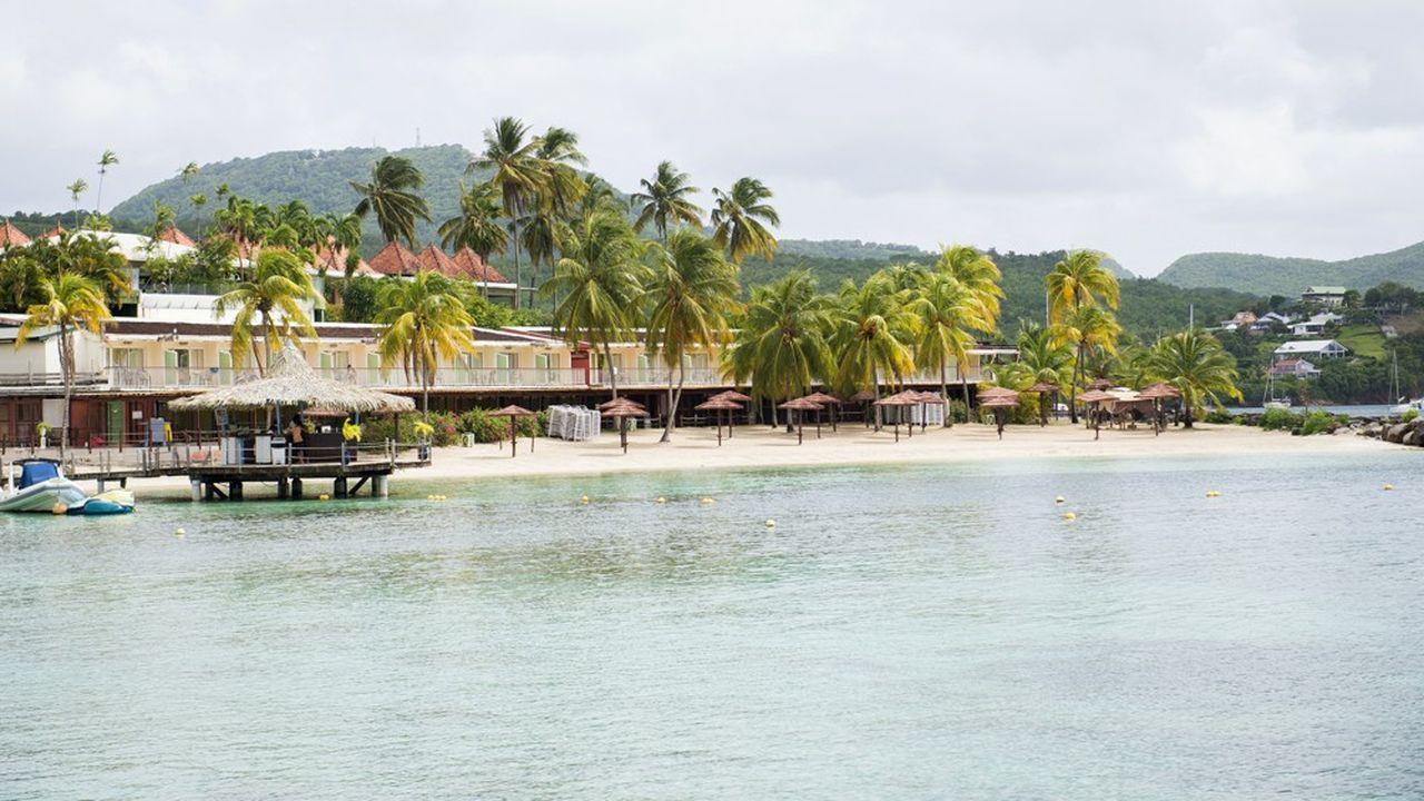 Un hôtel aux Trois-Ilets, en Martinique.