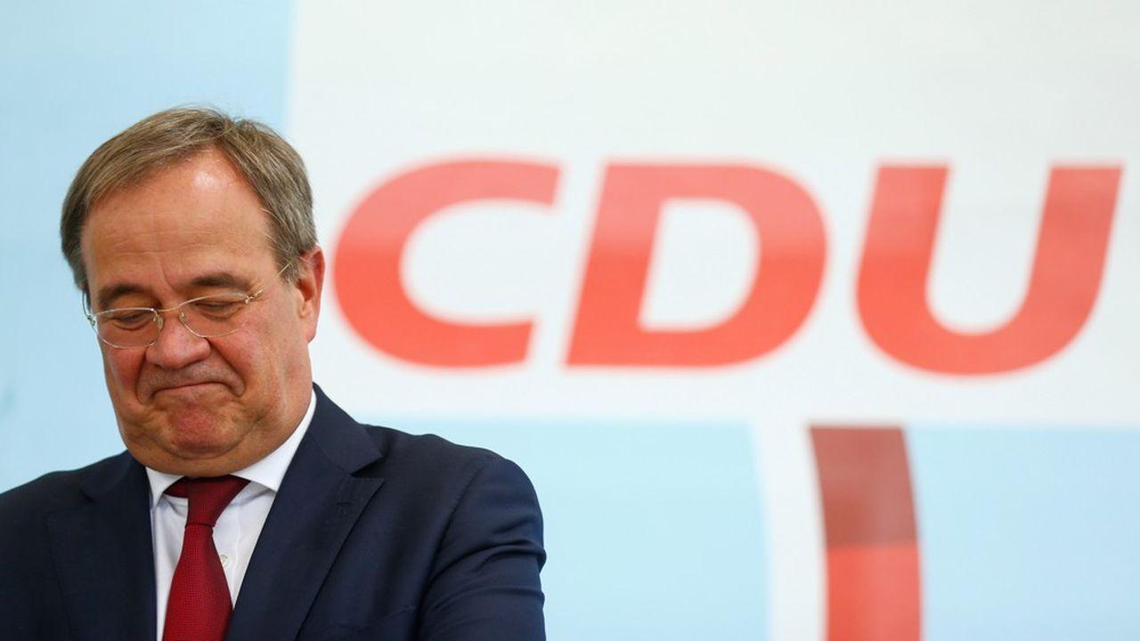Armin Laschet est menacé d'incarner l'exclusion de la CDU-CSU du pouvoir au terme de seize ans de règne sous la houlette d'Angela Merkel.