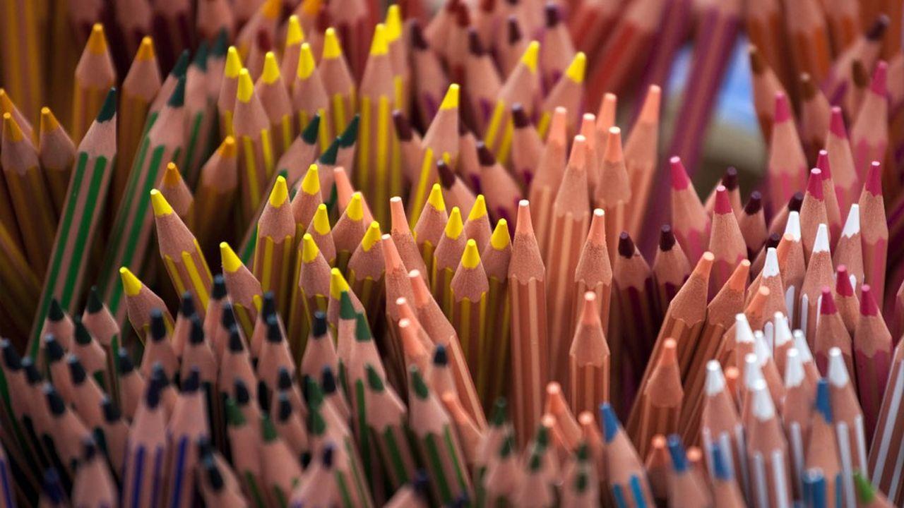 L'usine BIC de Samer dans le Pas Calais fabrique notamment les crayons à papier Evolution et les porte-mines Big Matic
