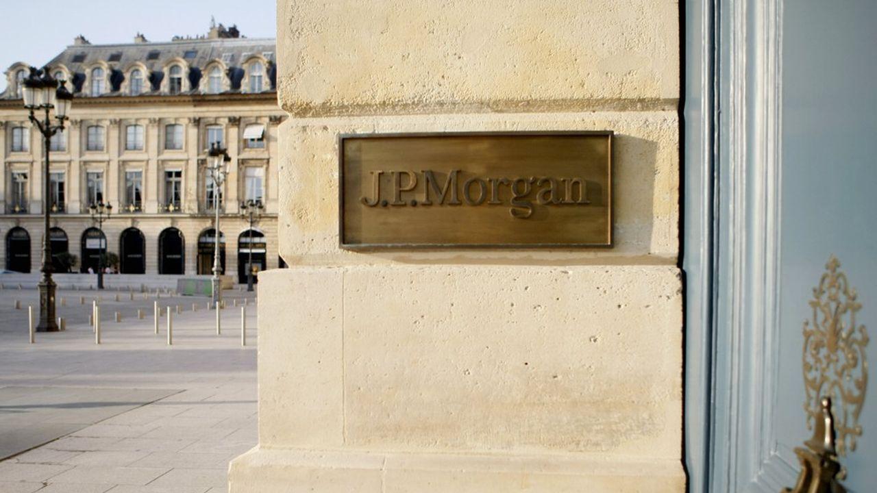 Siège social de JP Morgan France. La banque était poursuivie pour complicité de fraude fiscale via «une procédure complexe, très sophistiquée dont la seule finalité en interposant des sociétés était d'éluder l'impôt».