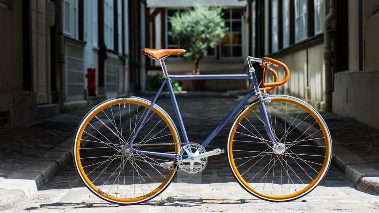 Maison Tamboite à Paris revendique un siècle d'histoire pour ses vélos sur mesure très haut de gamme.