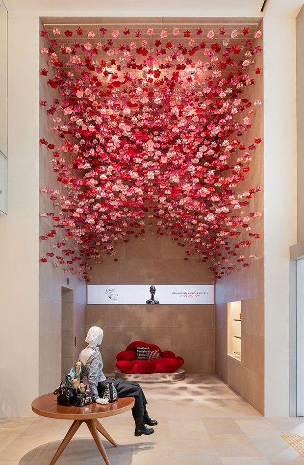 Magasin Louis Vuitton à Séoul. L'architecte travaille sur l'univers de la griffe depuis 1995.