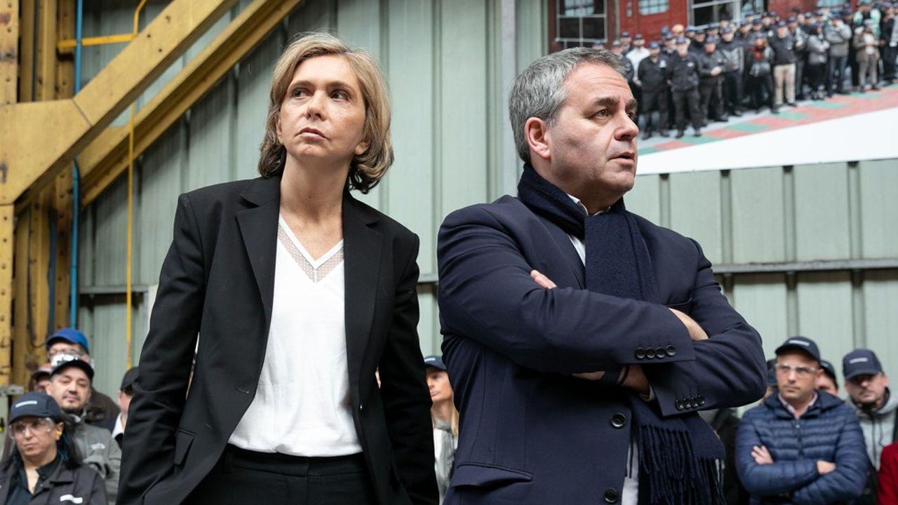 Valérie Pécresse et Xavier Bertrand (ici en 2019) jouent des coudes pour porter les couleurs de la droite à la prochaine présidentielle.