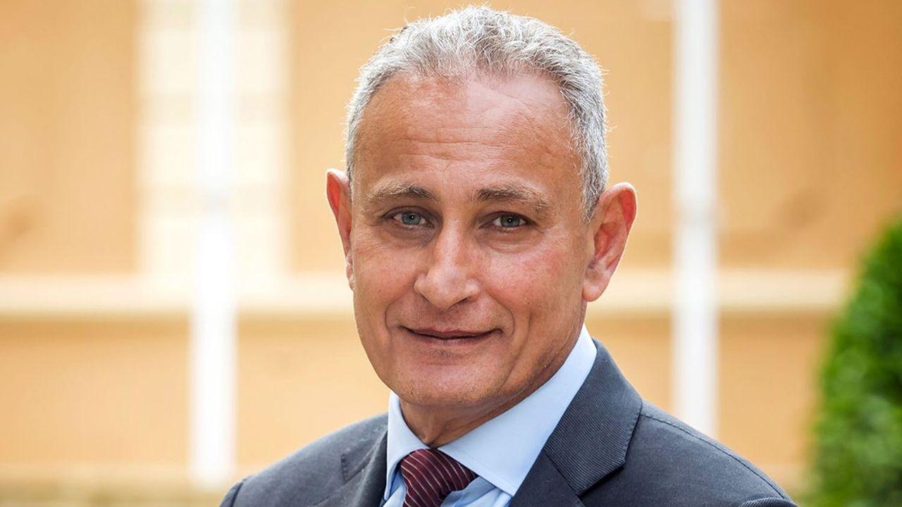 Le Secrétaire général de l'Union pour la Méditerranée, Nasser Kamel.