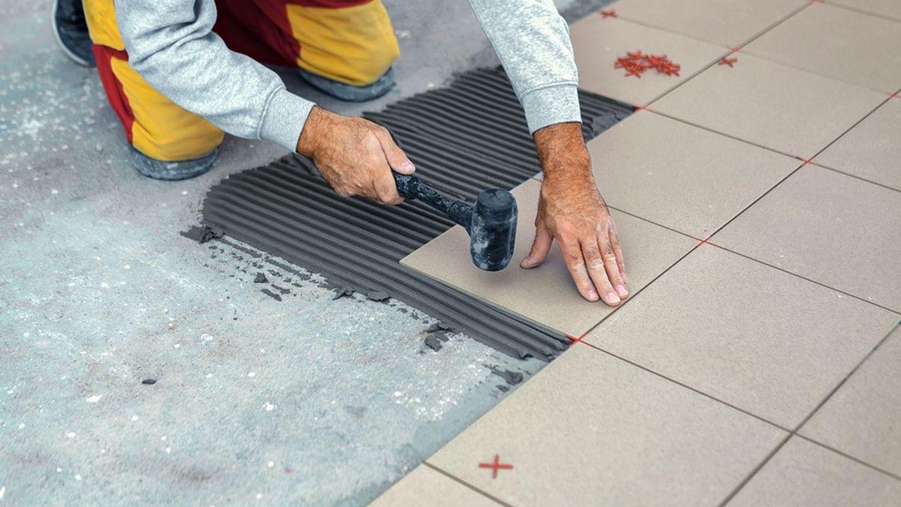 Les embauches ont fortement progressé dans l'artisanat du bâtiment au deuxième trimestre.