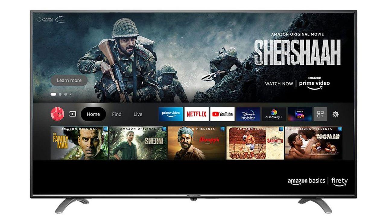 Amazon a déjà lancé des téléviseurs en Inde.