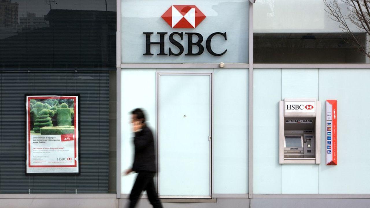 La banque britannique HSBC a tiré quelque 62% de ses bénéfices avant impôt des paradis fiscaux entre2018 et2020.