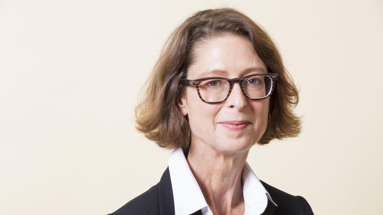 Abigail Johnson a succédé à son père à la présidence de Fidelity, en 2017.