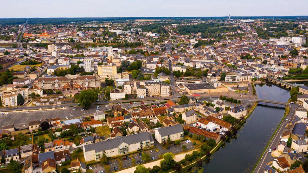 234 communes bénéficient actuellement du programme Action coeur de ville, comme Vierzon, dans le Cher.