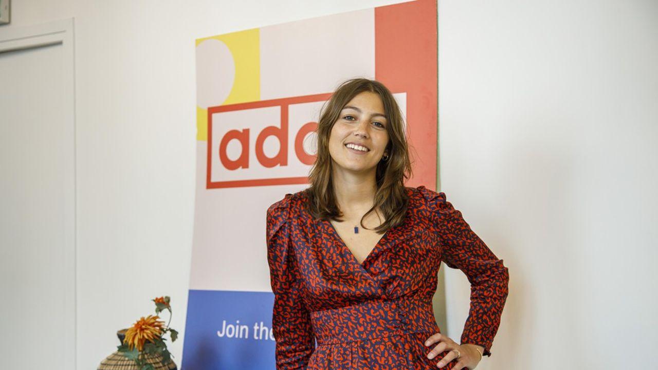 Sans avoir fait d'école d'informatique, Chloé Hermary a ouvert Ada Tech School pour favoriser la diversité dans la formation en développement web.