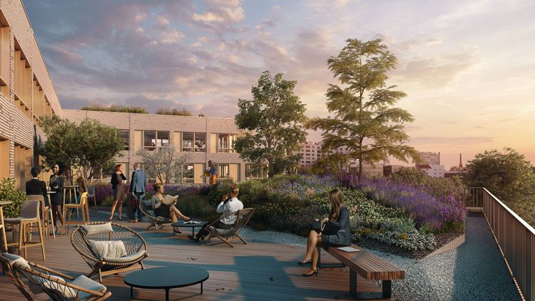 L'immeuble de bureaux Kalifornia (Bouygues Immobilier), à Malakoff, accueillera plus de 2.000 collaborateurs. D'une surface totale de 22.400 mètres carrés, il offrira une pluralité d'espaces et d'usages (travail, sport, détente,etc.) et de nombreux services (offres diverses de restauration, espace dédié à la livraison de repas, café contemporain, bar à jus,etc.). L'ensemble est conçu autour d'un jardin de 4.500 mètres carrés d'espaces verts et de terrasses. La livraison est prévue pour 2024.