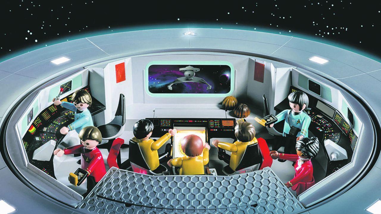 Le vaisseau de «Star Trek» sera vendu au prix conseillé de 499,99euros, un record pour Playmobil dont les produits les plus coûteux n'ont jamais dépassé 200euros.