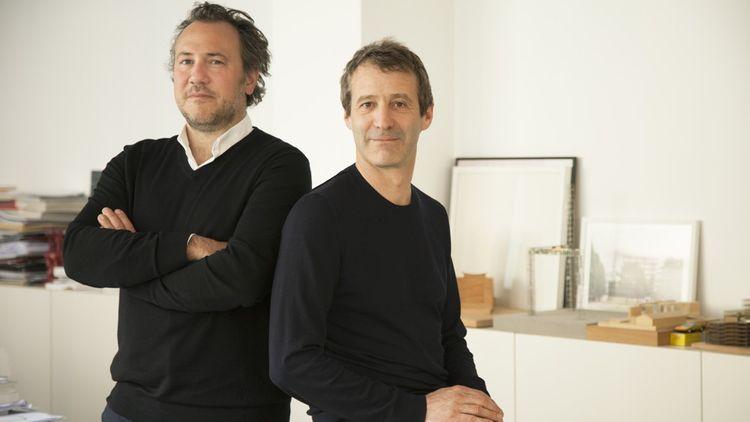 Cyrille Le Bihan et Mathurin Hardel, architectes, dirigentl'agence Hardel Le Bihan Architectes.