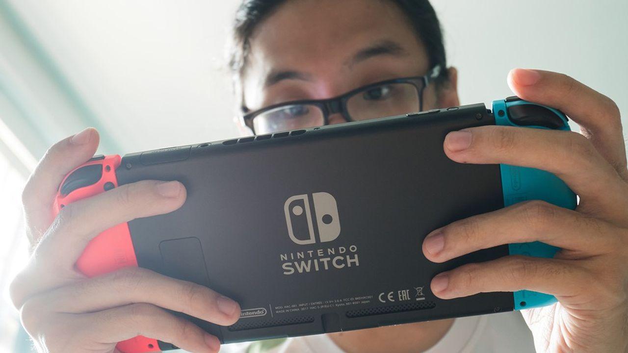 La Switch, dernière console de Nintendo, s'est très bien vendue durant la pandémie.