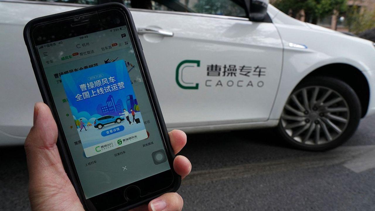 CaoCao mise notamment sur des véhicules électriques pour gagner le coeur des grandes métropoles.
