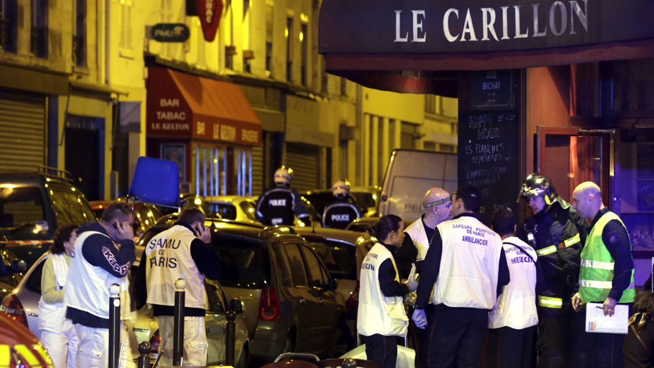 Restaurant Le Carillon, le 13novembre 2015.