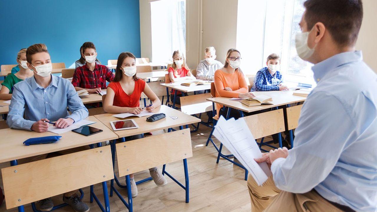 82% des agents de l'Education nationale déclarent être exposés au Covid dans le cadre professionnel.