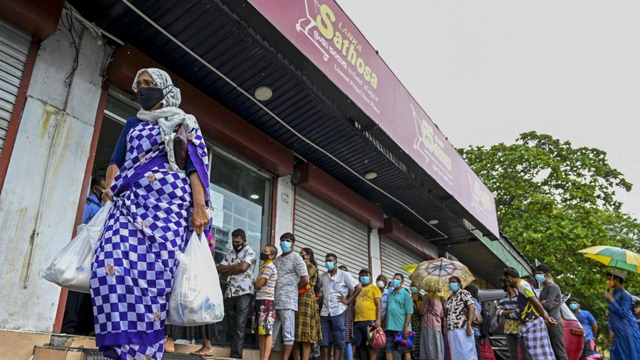 Le Sri Lanka s'enfonce dans la crise économique