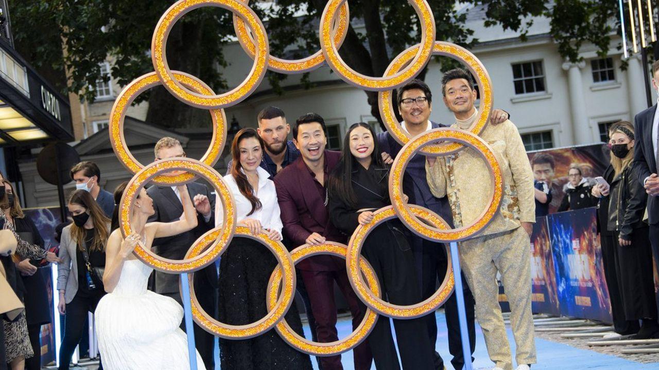 «Shang-Chi» a réalisé 94,7millions de dollars de recettes en Amérique du Nord de vendredi à lundi, selon Comscore.