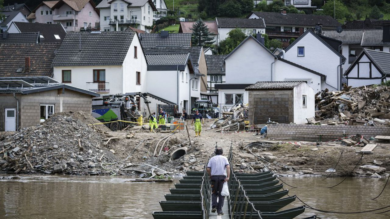 L'année 2021 s'annonce très coûteuse sur le front des catastrophes naturelles pour le secteur de la réassurance, du fait notamment des inondations en Europe.