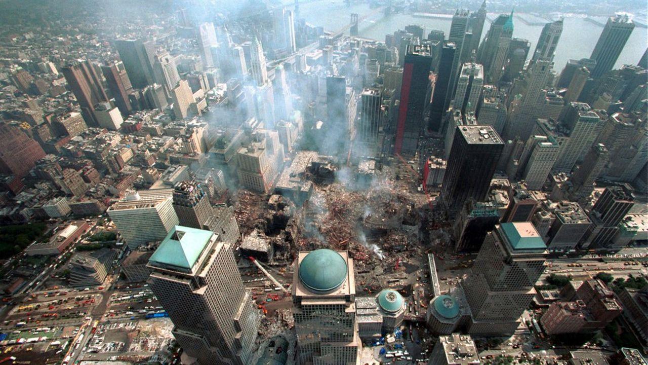 Ground Zero (World Trade Center), le 26septembre 2001.