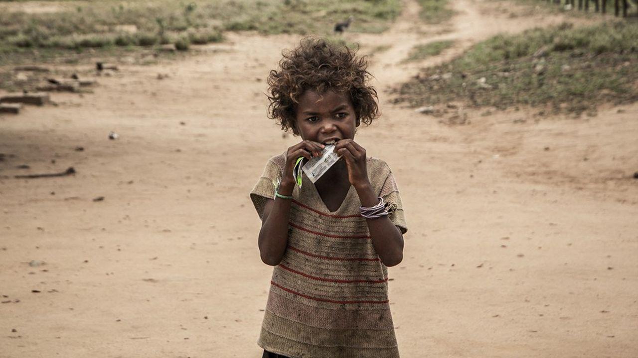 Plus de 1million de personnes sont menacées par la famine dans le sud de Madagascar.